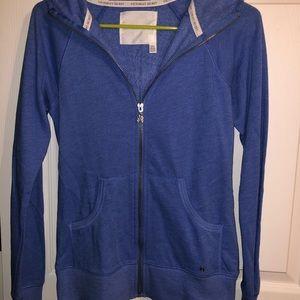 Victoria secret zip up sweatshirt